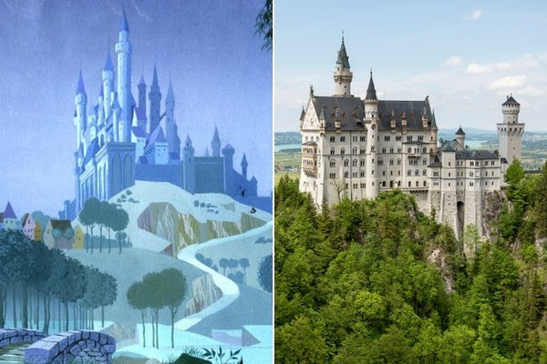 11 Real-Life Locations That Inspired Your Favorite Disney Films
