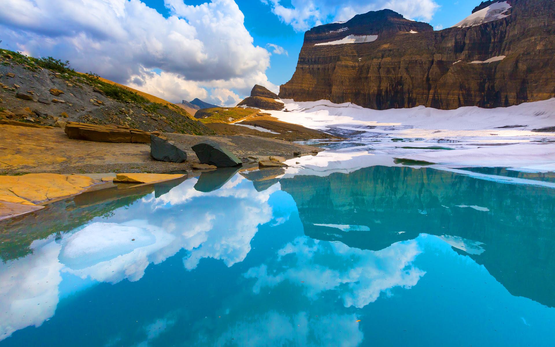 Grinnell Glacier National Park Wallpaper 1920x1200 30544