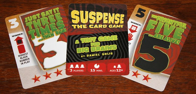 Suspense Card Samples