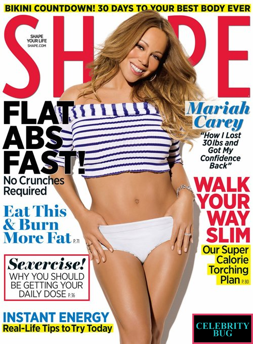 Shape - May 2012, Mariah Carey