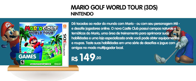 MARIO GOLF - WORLD TOUR (3DS)