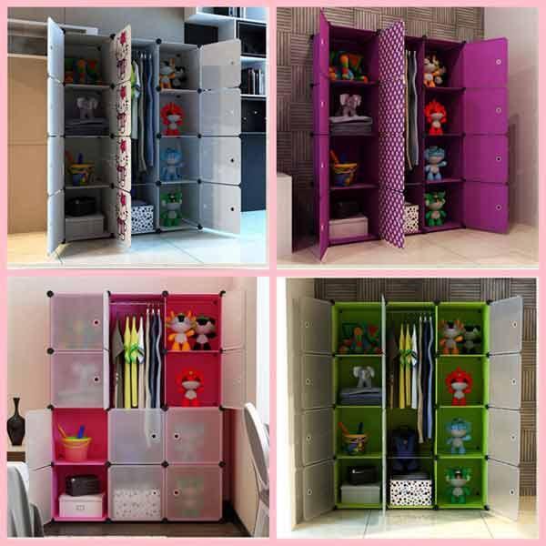 Ideas para hacer un closet casero latest interior design - Como revestir un armario ...