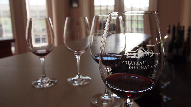 Chateau Des Charmes - Wine Tasting Glass
