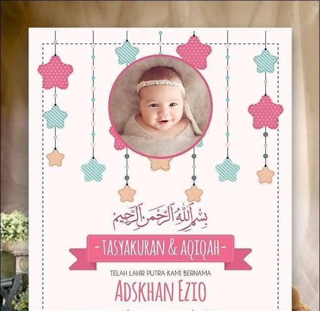 Download Kartu Ucapan Kelahiran Bayi Cdr - kartu ucapan keren