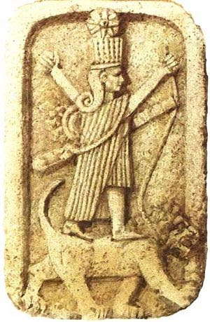 Древнее изображение Иштар