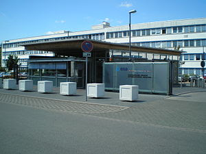 European Space Operations Centre (ESOC) in Dar...