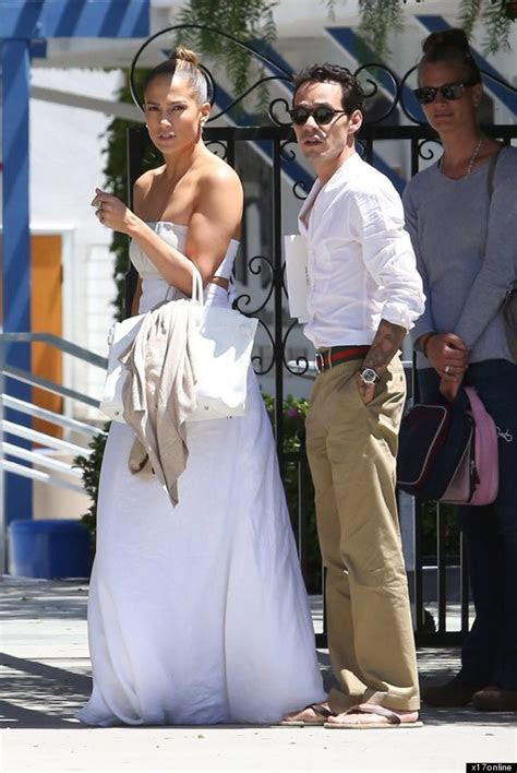 Jennifer Lopez Dons Wedding Like Dress For Reunion With Ex