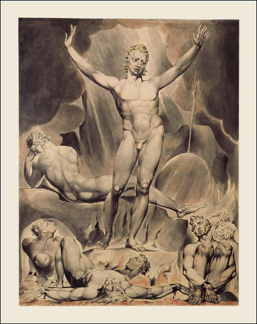 William Blake, John Milton, Paradise Lost