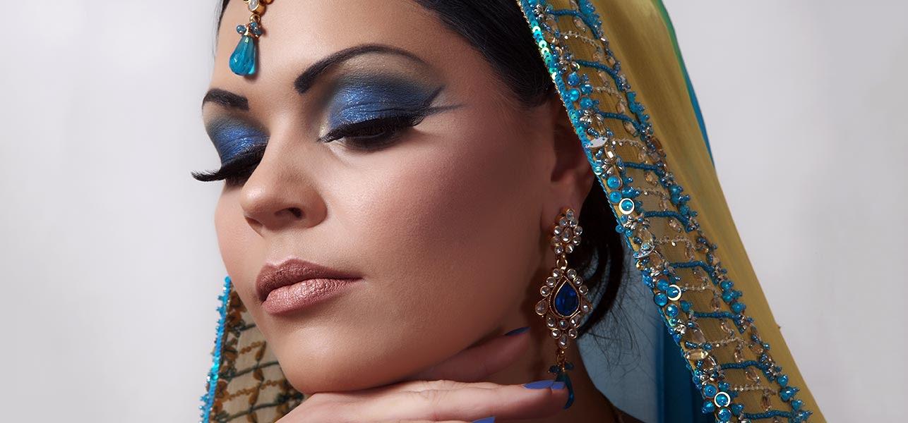 Arabic Bridal Eye Makeup Tutorial - With Detailed Steps ...