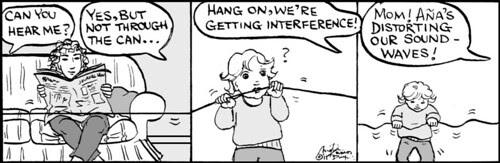 Home Spun comic strip #582