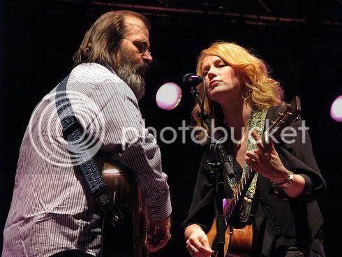 Steve Earle & Allison Moorer @ Gage Park: photo by Michael Ligon