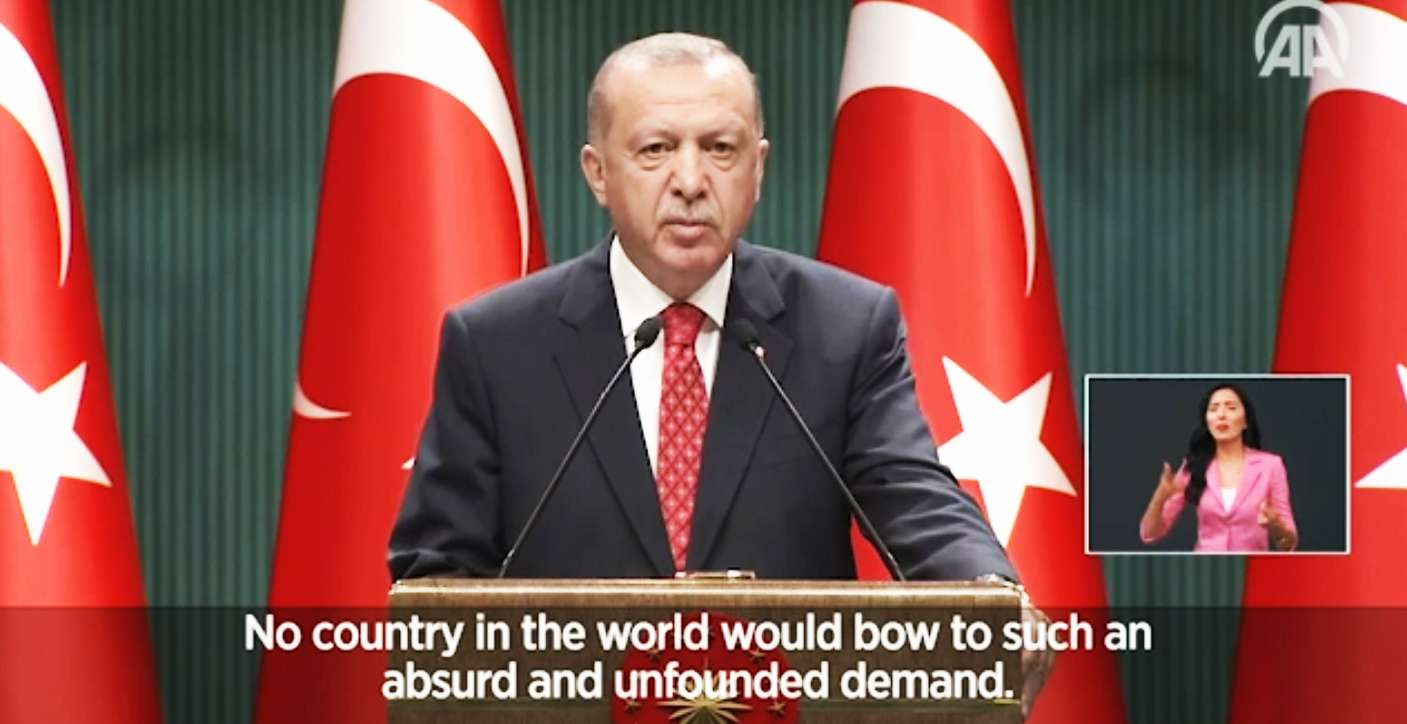 Προκλήσεις Ερντογάν Γαλάζια πατρίδα