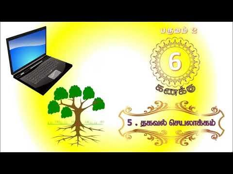 6th std -Term 2 - Maths - QR Code Videos - Page No