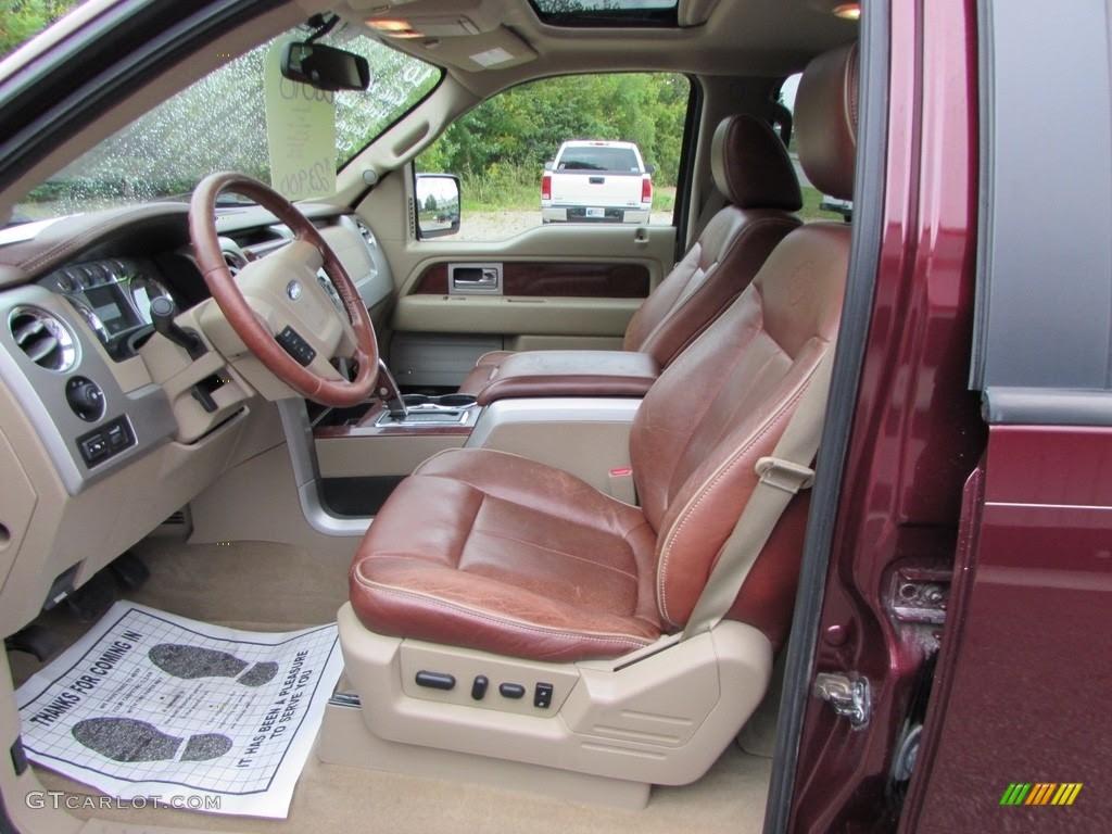 Tan Interior 2010 Ford F150 King Ranch Supercrew 4x4 Photo