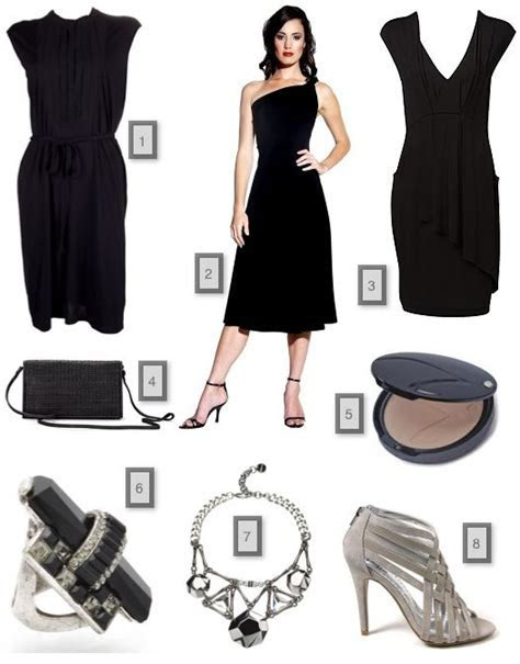 Accessories For Black Evening Dress   coktail dresses in