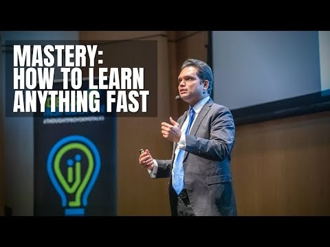 How to Learn Anything Fast | Nishant Kasibhatla