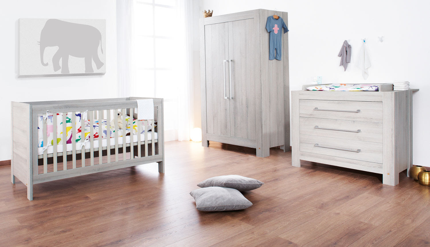 Neutral & white nurseries perfect for both genders | Bamboola Baby