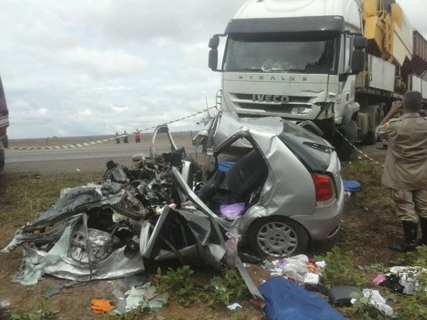 Acidente BA-020 Bahia 1 (Foto:  Jadiel Luiz/Blog Sigi Vilares )