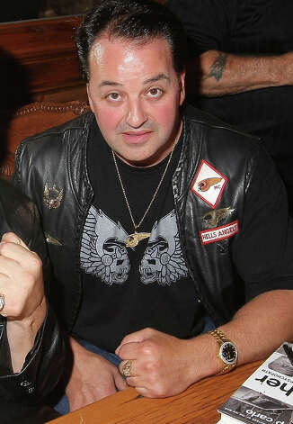 Kevin Lubic, wearing his Hells Angels regalia, is shown at a party in New York City on Sept. 24, 2009. Photo: Michael Loccisano / Getty Images, ST / 2009 Getty Images
