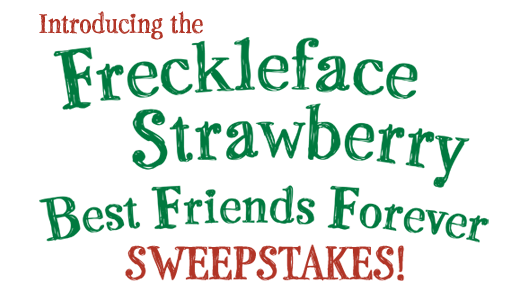 Freckleface Strawberry Best Friends Forever Sweepstakes