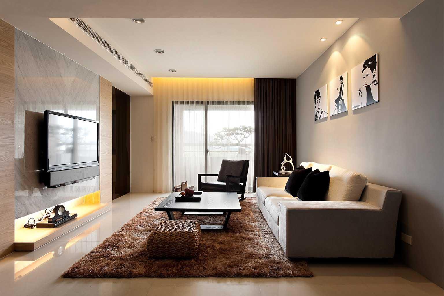 Desain Ruang Keluarga Tv Gambar Desain Rumah Minimalis