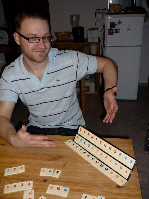 Stefan's Bad Luck at Rummikub
