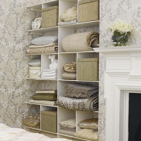 Bedroom storage shelves | Bedrooms | Design ideas | Image ...