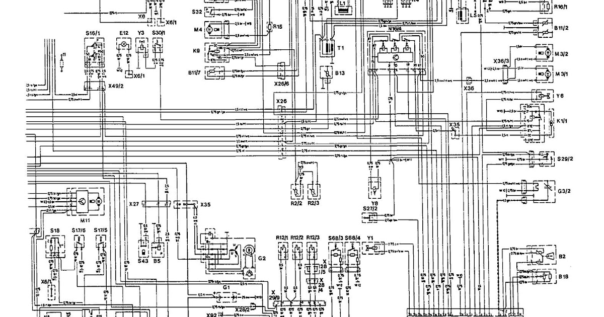 Wiring Diagram Mercede Benz 300e - Wiring Diagram Schemas