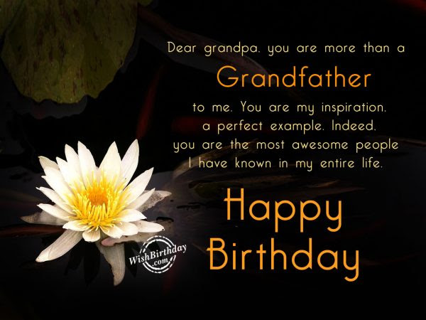 Download Best Grandpa Birthday Quotes With Flowers Nice Wishes