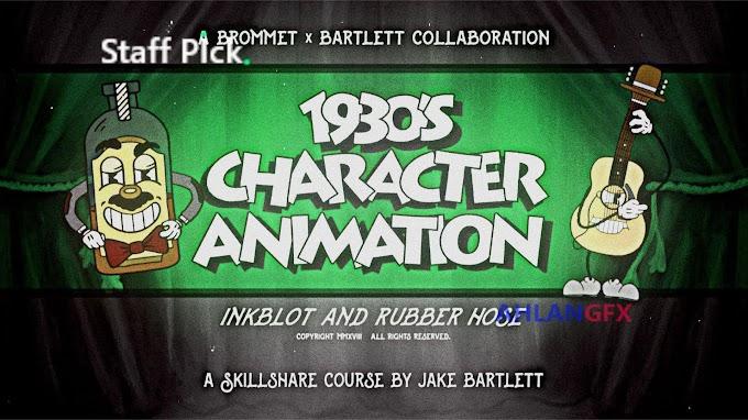 Skillshare - 1930s Character Animation