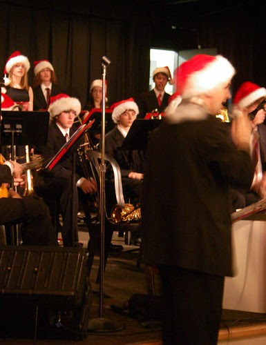 Christmas concert at Third Place Books