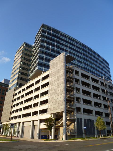 Parking Garage & Fidelity Building, Reston Town Center, VA