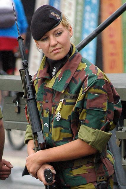 Belgian army girl | Explore Krytox's photos on Flickr ...