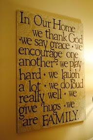 In Our Home We Thank God Family Quote Quotespicturescom