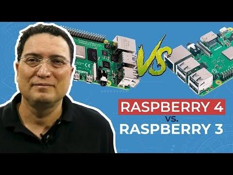 Raspberry 4 vs Raspberry 3