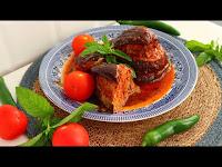 Fırında Patlıcan Kebabı Çok Lezzetli Tarif - Kolay Doğal Yemek Tarifleri