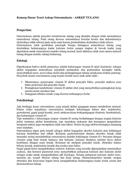 ASKEP OSTEOMALACIA PDF