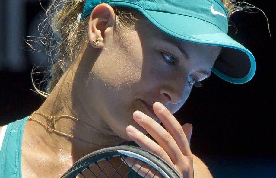 Eugenie Bouchard, à Perth, dimanche