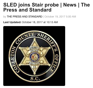 SLED joins Brother Stair Sex Probe 2017