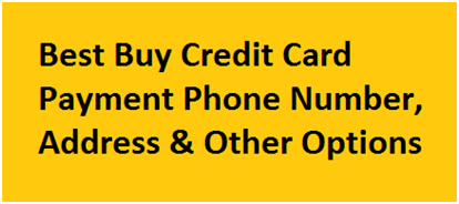 My Best Buy Pay My Bill Online - Payment Options & Account Login