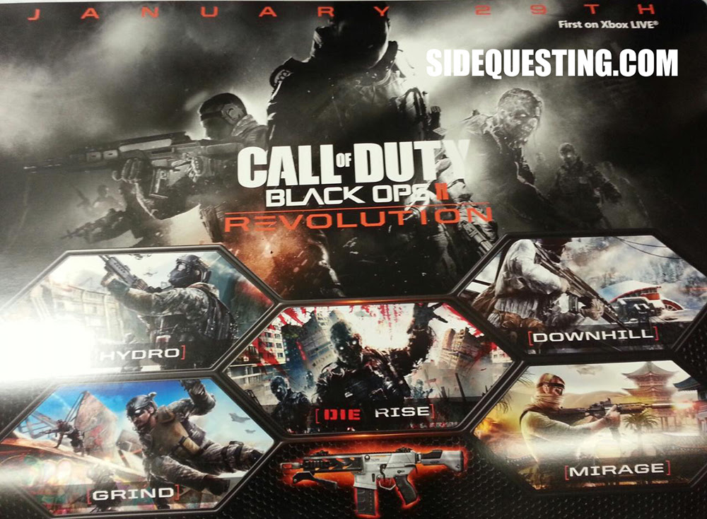 Call Of Duty Black Ops Ii Revolution Map Pack Coming