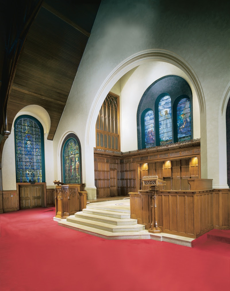 First Presbyterian Of Lake Forest Interior Restoration Work