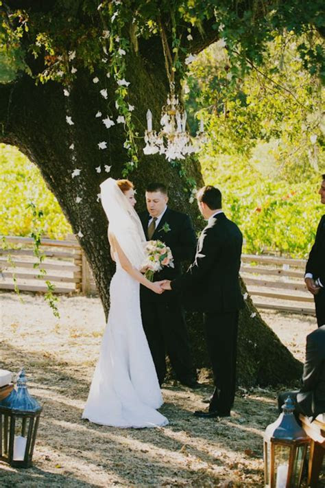 Intimate Vineyard Wedding   Inspired By This