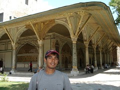 Harem (Bangunan Peribadi Sultan) di Topkapi Palace, Istanbul, Turkey