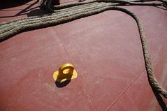 Yellow tie loop