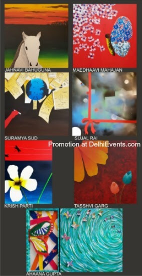 Age No Bar group show paintings Curated Joyattam Dutta