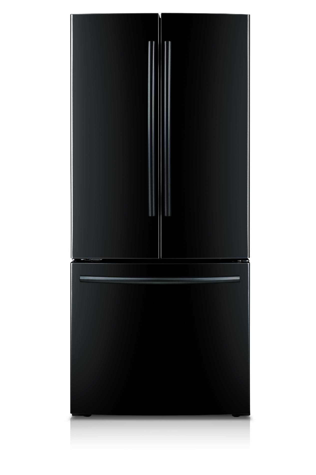 French Door Refrigerators Black Samsung 22 Cu Ft French Door