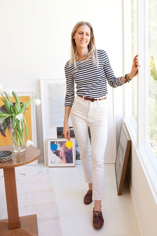 7 Le Fashion Blog 30 Fresh Ways To Wear White Jeans Jessica De Ruiter Striped Top High Waisted Moccasins Via Tory Burch photo 7-Le-Fashion-Blog-30-Fresh-Ways-To-Wear-White-Jeans-Jessica-De-Ruiter-Striped-Top-High-Waisted-Moccasins-Via-Tory-Burch.jpg