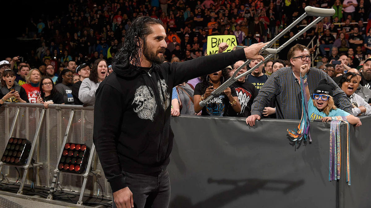Seth Rollins returns and he reveals that he doesn't need the crutch.