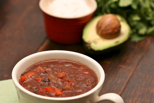Simple Black Bean Soup